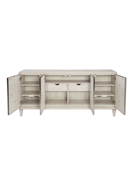 Bernhardt Damonica Metal Overlay Entertainment Console