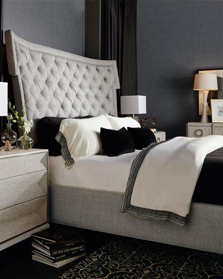 Bernhardt Damonica Tufted King Bed