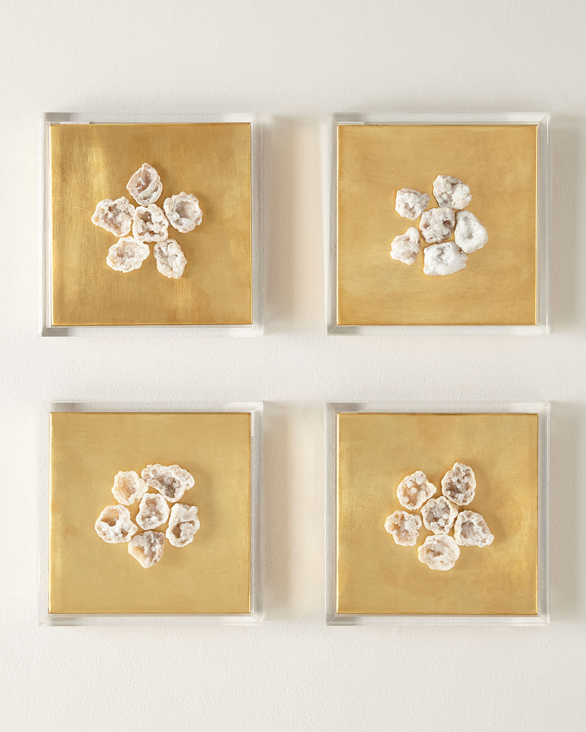 Framed Geode Wall Decor | Neiman Marcus