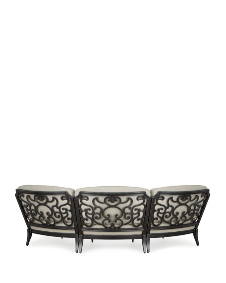 Cannes Crescent Sectional Sofa