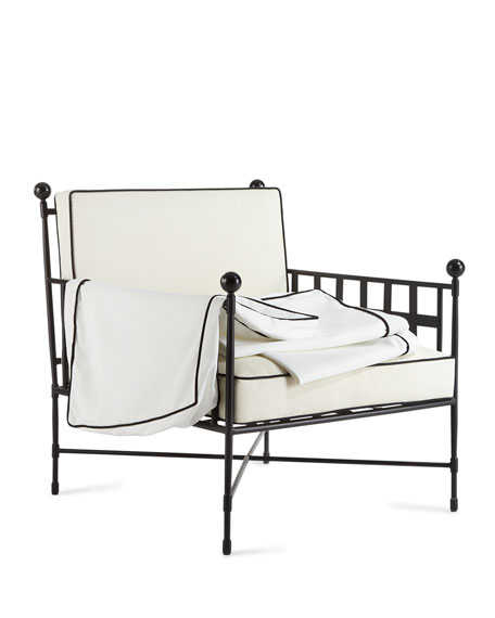 Avery Neoclassical Lounge Chair Replacement Cover