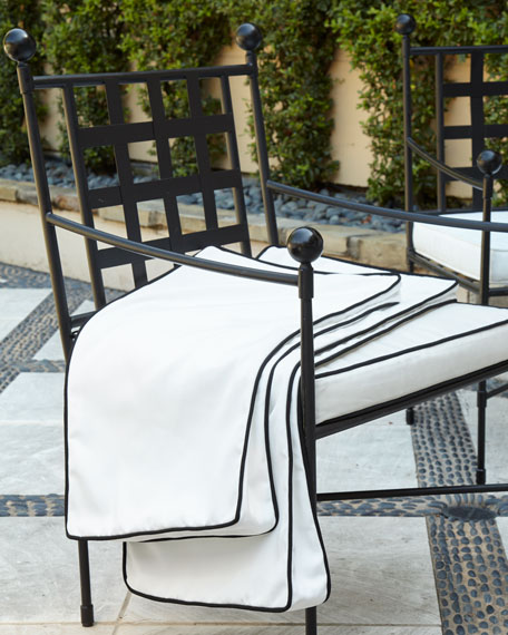 Avery Neoclassical Dining Chair Replacement Cover