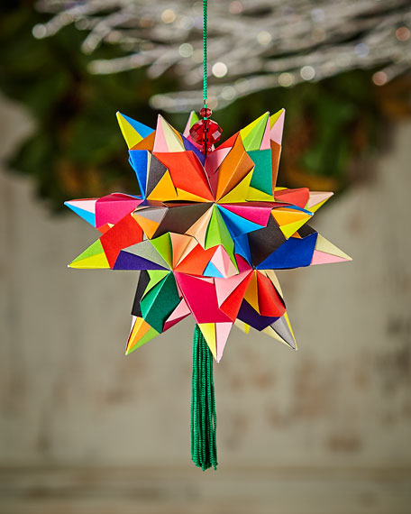 Paper for Water Bascetta Star Ornament