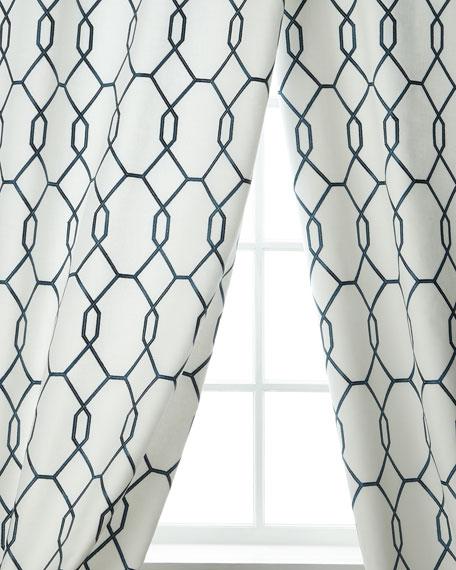 Creative Threads Entity Linen/Cotton Drape, 96