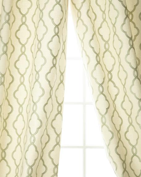 Creative Threads Plazo Linen/Cotton Drape, 96