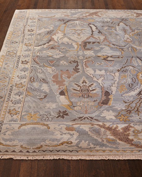Image 1 of 3: Exquisite Rugs Amata Hand-Knotted Rug, 9' x 12'
