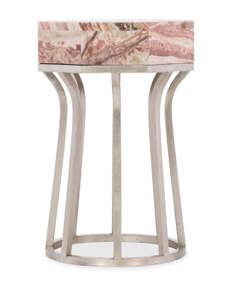 Hooker Furniture Clair Onyx Top Side Table
