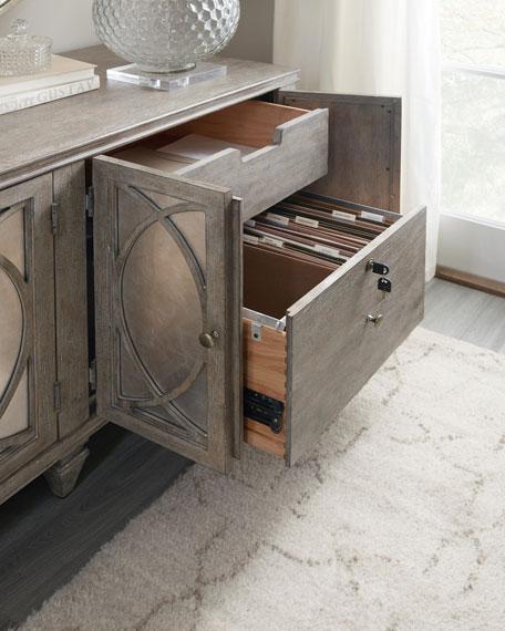 Hooker Furniture Nathan Eglomise Credenza