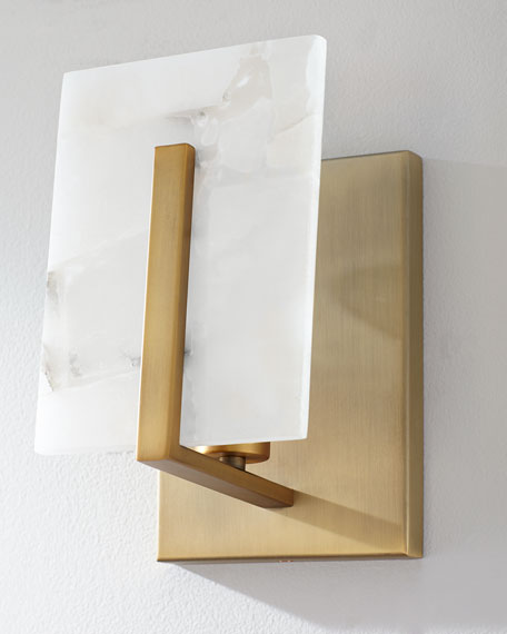 Jamie Young Alabaster Wall Sconce