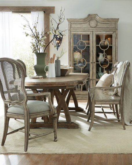 Hooker Furniture Lilith Trestle Dining Table