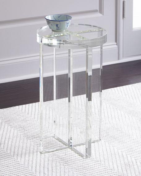 Duke Crystal Side Table