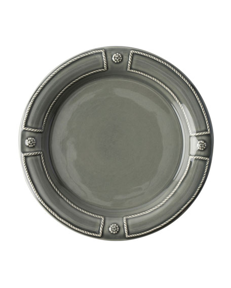 Berry & Thread French Panel Stone Grey Dessert/Salad Plate