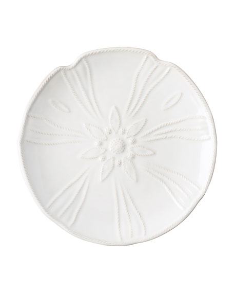 Juliska Sealife Whitewash Sea Urchin Dessert Plate