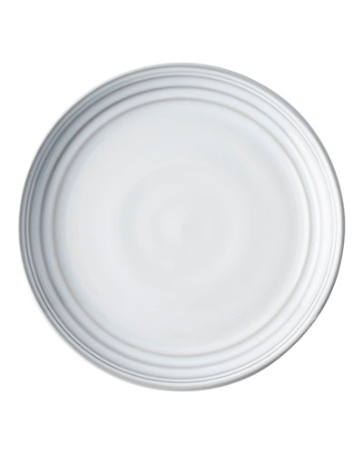Bilbao White Truffle Dessert Plates, Set of 4