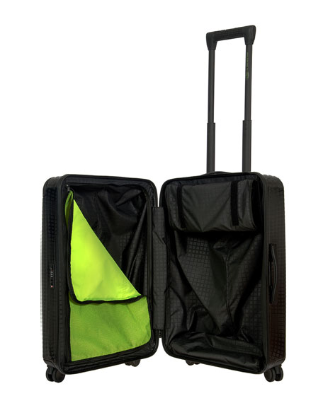 """Moleskine by Bric's 21"""" Polycarbonate Spinner Luggage"""