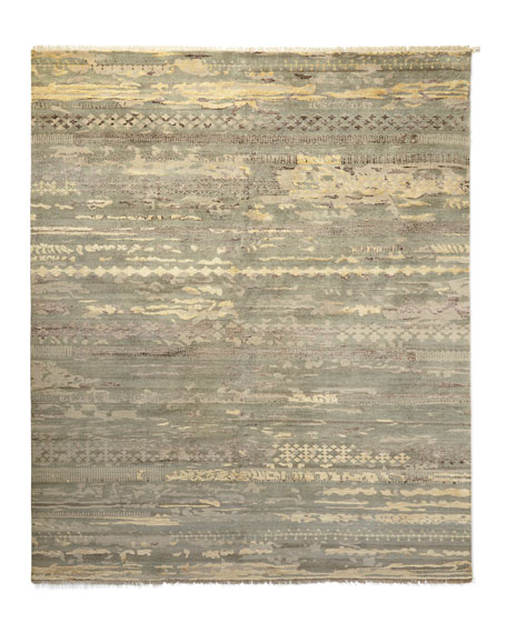 Tecula Hand-Knotted Rug, 3.6' x 5.6'