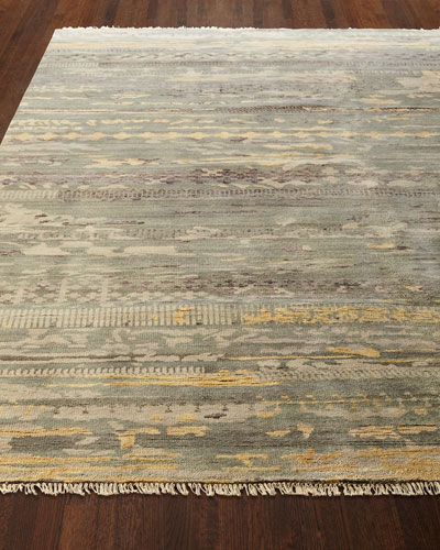 Tecula Hand-Knotted Runner  2.3' x 8'