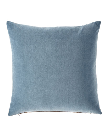 Eastern Accents Blick Denim Pillow and Matching Items