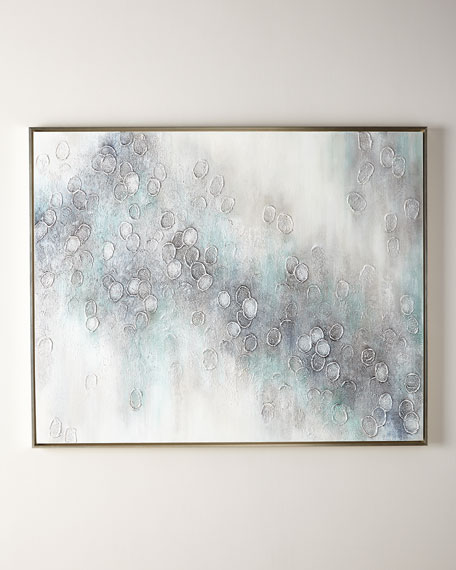 """City of Sparkle"" Original Handcrafted Art Painting on Canvas"