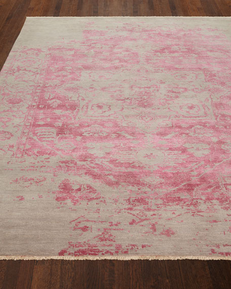 Chazzel Hand-Knotted Rug, 6' x 9'
