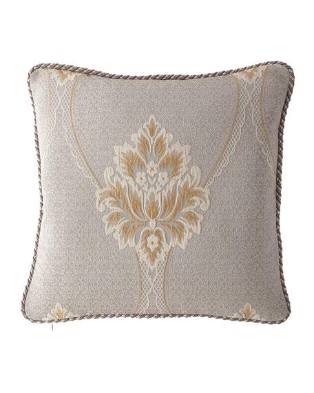 "Austin Horn Collection Valencia Pillow, 20""Sq."