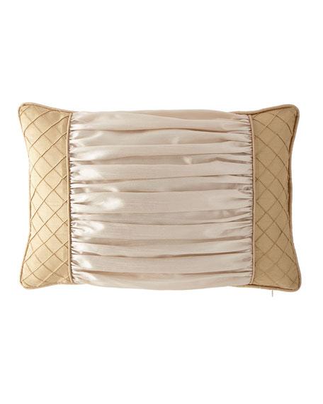 """Austin Horn Collection Valencia Boudoir Pillow, 13"""" x 20"""""""
