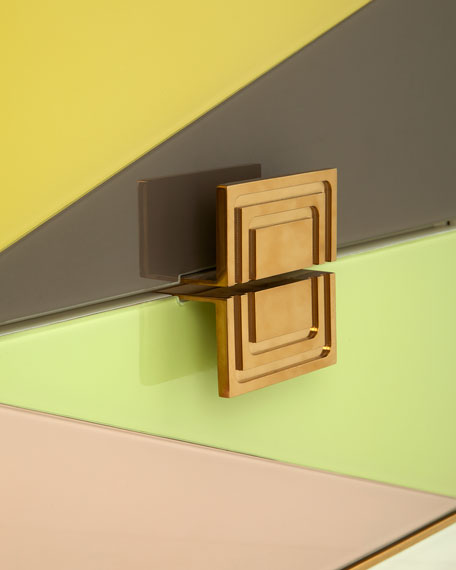 Image 2 of 4: Jonathan Adler Harlequin Console