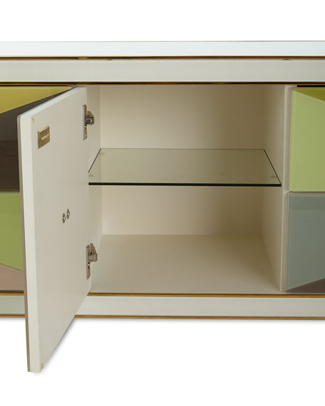 Image 4 of 4: Jonathan Adler Harlequin Console