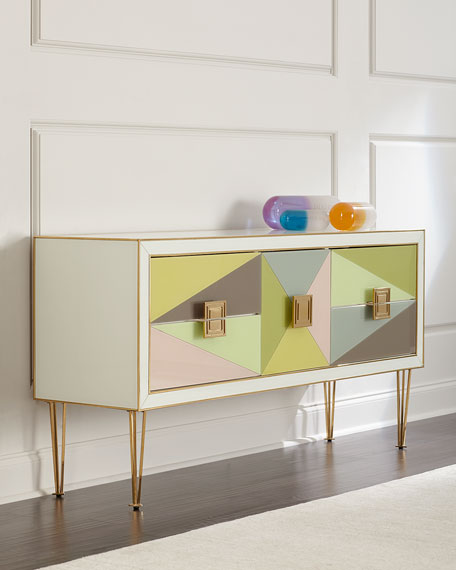 Image 1 of 4: Jonathan Adler Harlequin Console