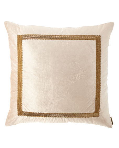 "Lili Alessandra Caesar Decorative Pillow, 26""Sq."