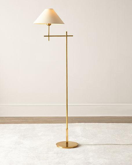 Golden Floor Lamp