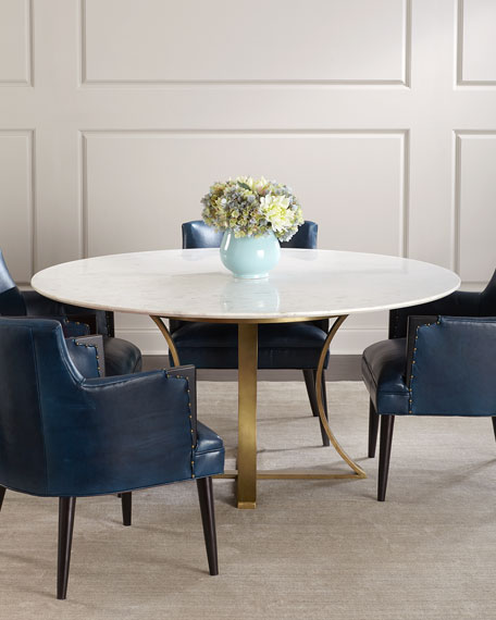 Gayla Marble Top Dining Table