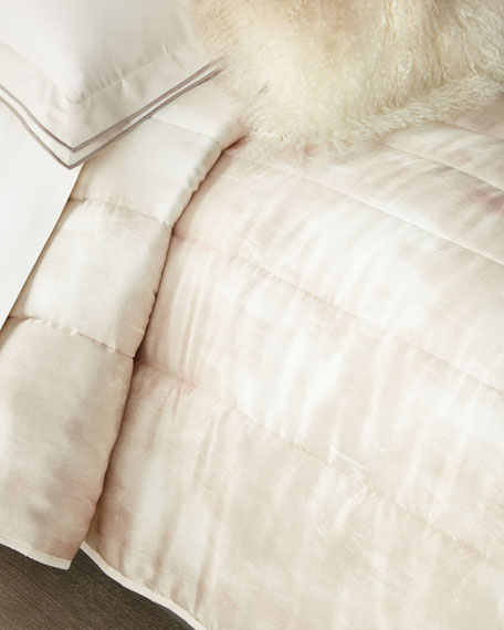 Michael Aram King Textured Quilt