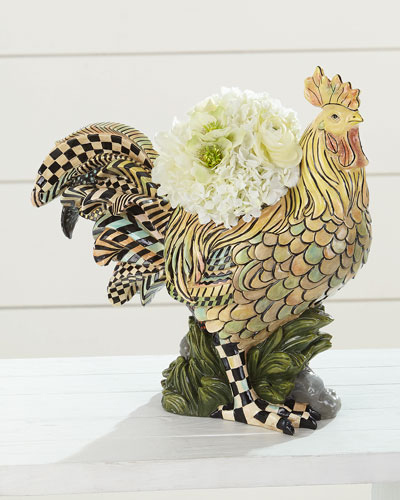 Rooster Indoor Planter