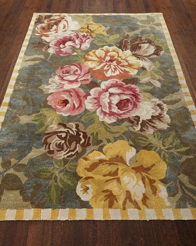 Bloomsbury Garden Rug, 5' x 8'