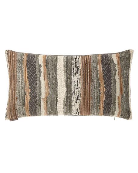 D.V. Kap Home Chindi Smoke Pillow