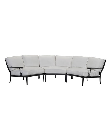 Lane Venture Winterthur Curved Sectional