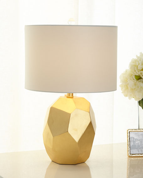 Image 2 of 2: Regina Andrew Resin Geode Table Lamp