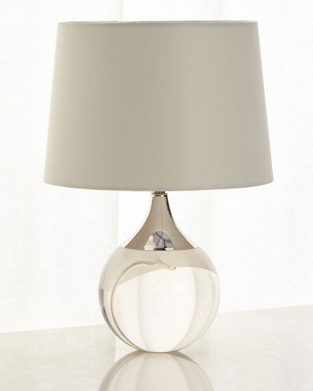 Regina Andrew Design Fluted Crystal Ball Lamp