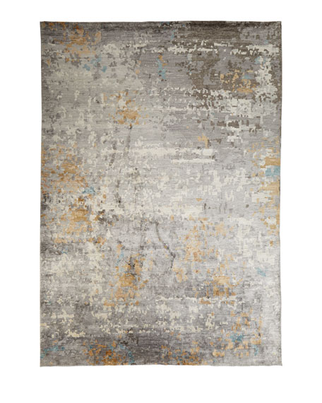 Cobble Hills Hand-Knotted Rug, 10' x 14'