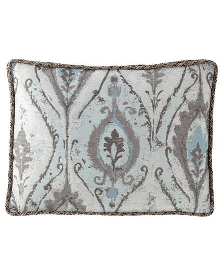 Dian Austin Couture Home Paolo Boxed King Sham with Cord