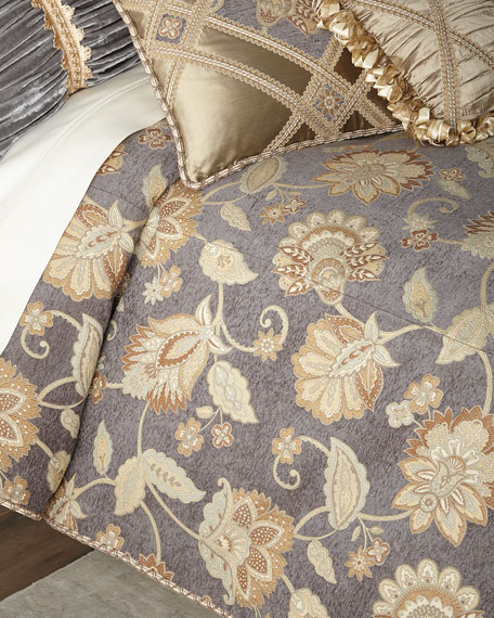 Dian Austin Couture Home Golden Garden Floral King