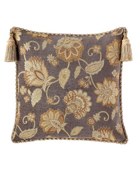 Dian Austin Couture Home Golden Garden Floral European Sham