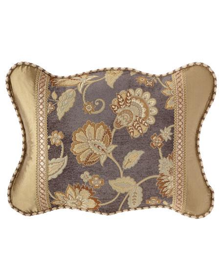 Dian Austin Couture Home Golden Garden Scalloped Standard Sham