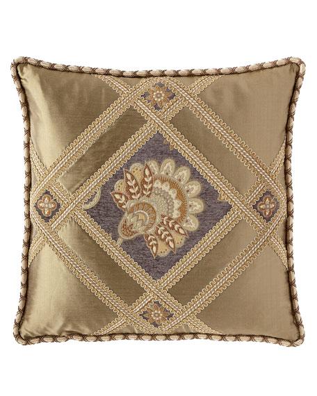 Dian Austin Couture Home Golden Garden Pierced Boutique Pillow
