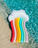 Rainbow Cloud Longer Pool Float