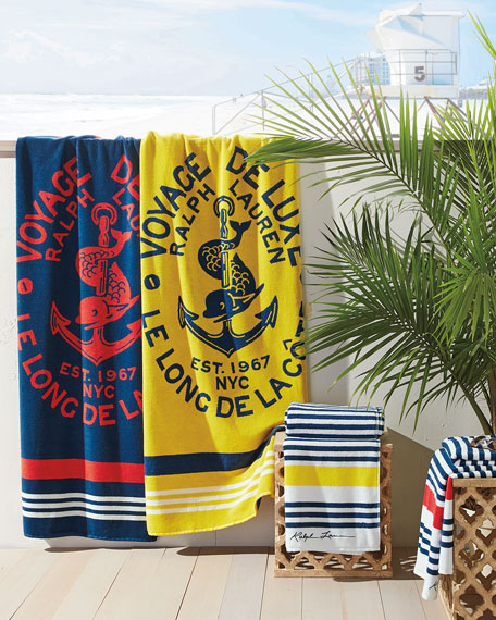 Healy Stripe Beach Towel