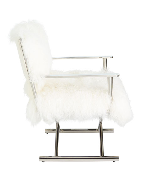 Emerson Sheepskin Director's Chair