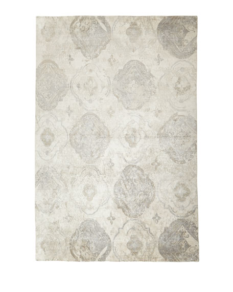 Exquisite Rugs Cityscape Hand-Knotted Rug, 8' x 10'