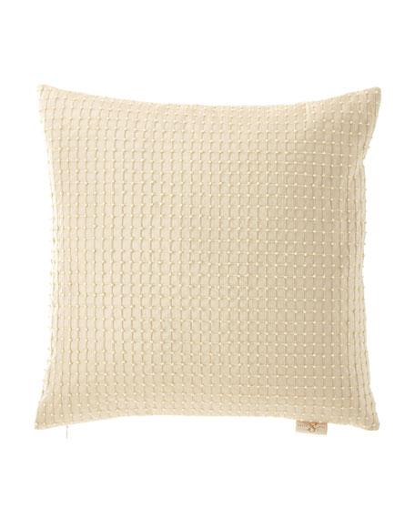 Sweet Dreams Isadora Beaded Silk Pillow